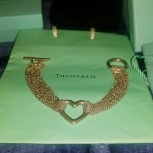 Tiffany & Co. Jewelry - Tiffany & co matching mesh toggle heart set